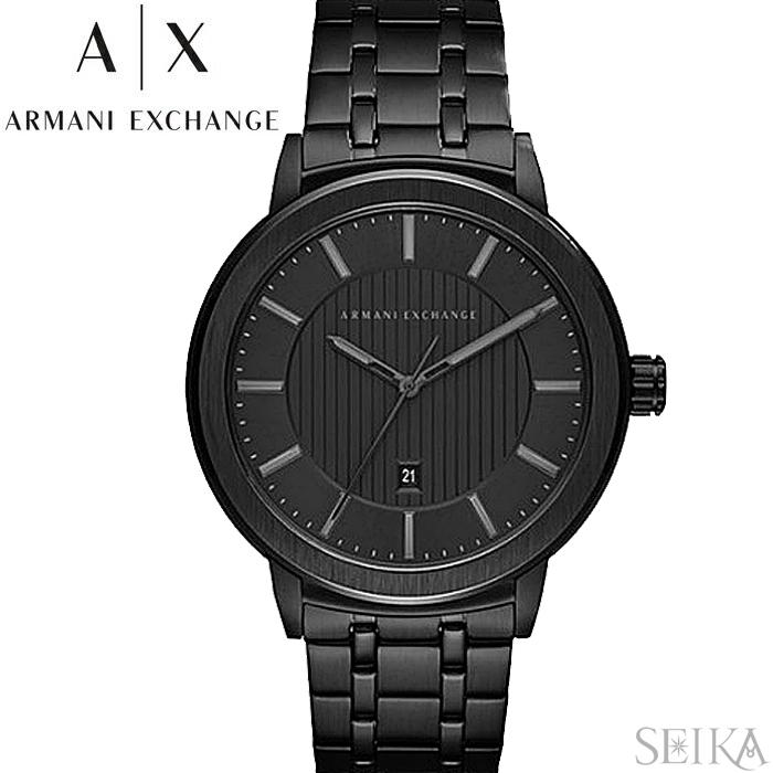【レビューを書いて5年保証】アルマーニエクスチェンジ ARMANI EXCHANGE AX1457時計 腕時計 メンズ ブラック 父の日