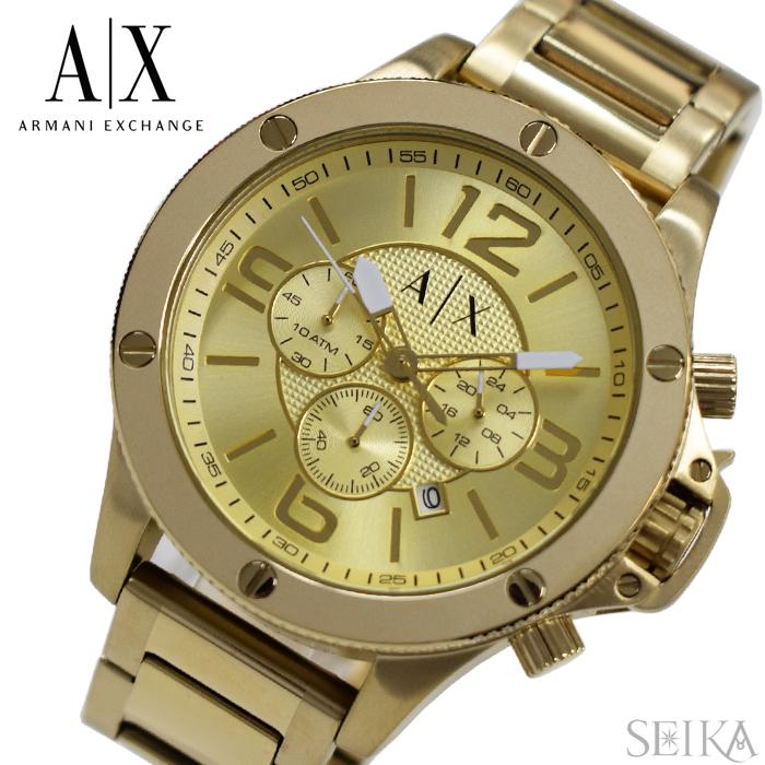 アルマーニエクスチェンジ ARMANI EXCHANGE AX1504時計 腕時計 メンズ ゴールド
