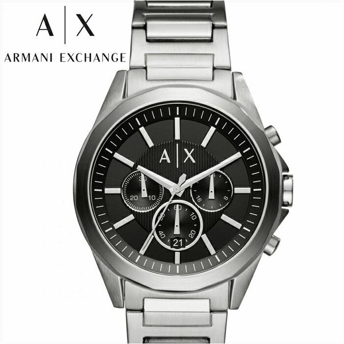 アルマーニエクスチェンジ ARMANI EXCHANGE AXAX2600 腕時計 時計 メンズブラック シルバー
