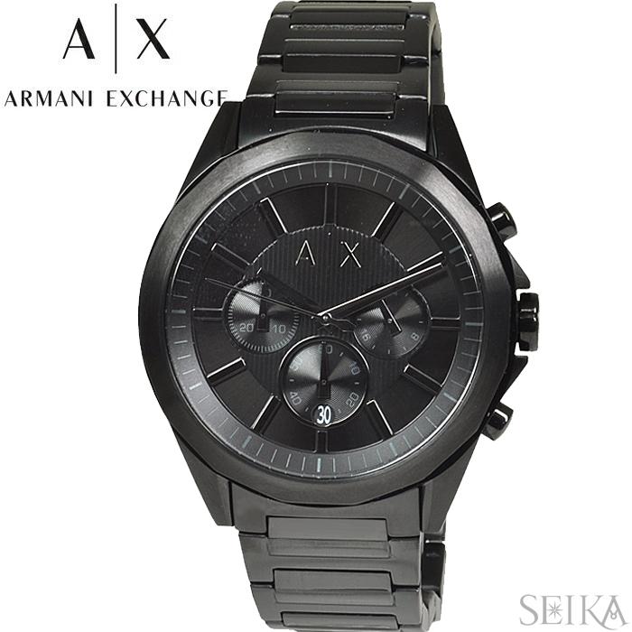 アルマーニエクスチェンジ ARMANI EXCHANGE AX2601時計 腕時計 メンズ ブラック