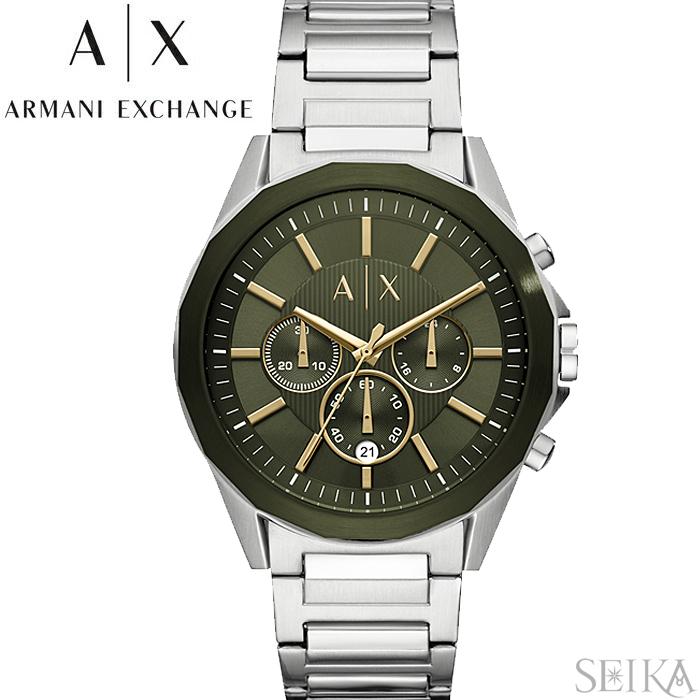 【レビューを書いて5年保証】【サマークリアランス】アルマーニエクスチェンジ ARMANI EXCHANGE AX2616時計 腕時計 メンズ カーキ ギフト