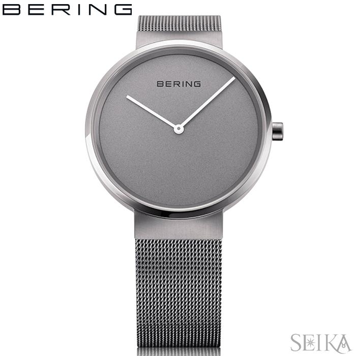 ベーリング BERING 14531-077(30)腕時計 時計 レディース ガンメタ シルバー メッシュ