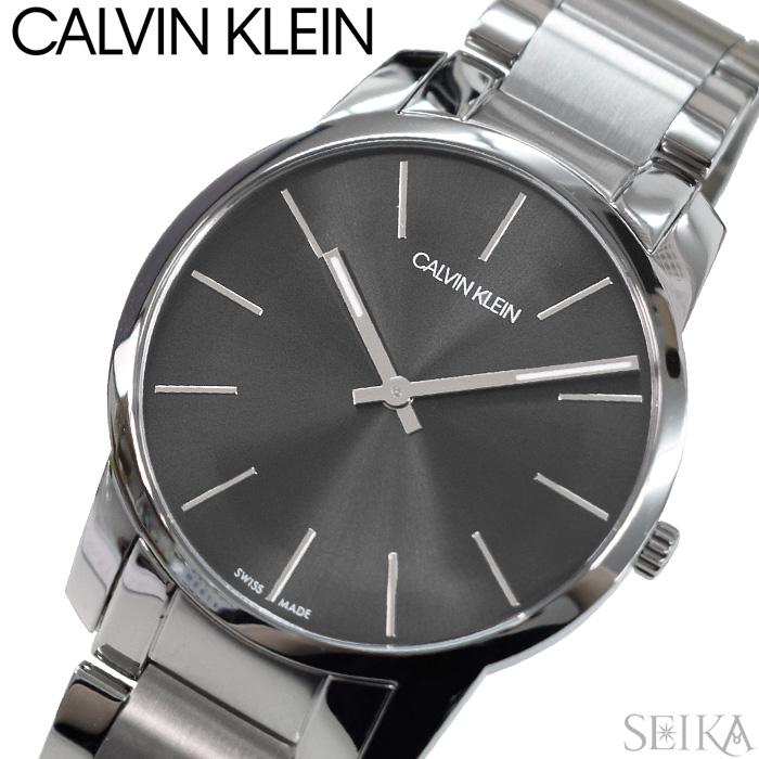 【110】カルバンクライン Calvin Klein メンズ 時計【K2G21161】 グレー シルバー