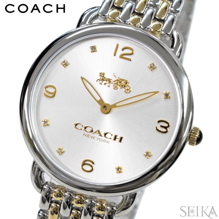 【レビューを書いて5年保証】コーチ COACH 14502788時計 腕時計 シルバー ゴールド ギフト