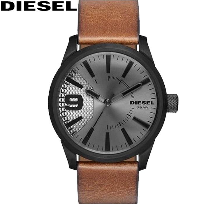 ディーゼル DIESEL DZ1764 ラスプ時計 腕時計 メンズ ブラウン レザー【ID】