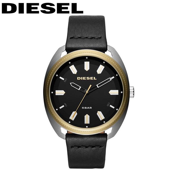 ディーゼル DIESEL DZ1835ファストバック 時計 腕時計 メンズブラック レザー