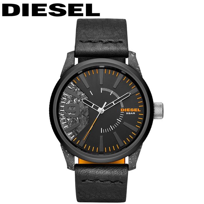 ディーゼル DIESEL DZ1845ラスプ 時計 腕時計 メンズブラック レザー【ID】