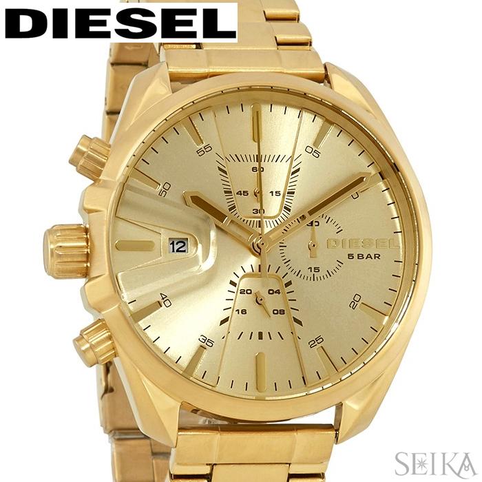 ディーゼル DIESEL DZ4475 エムエス9 メンズ 時計 腕時計 ゴールド