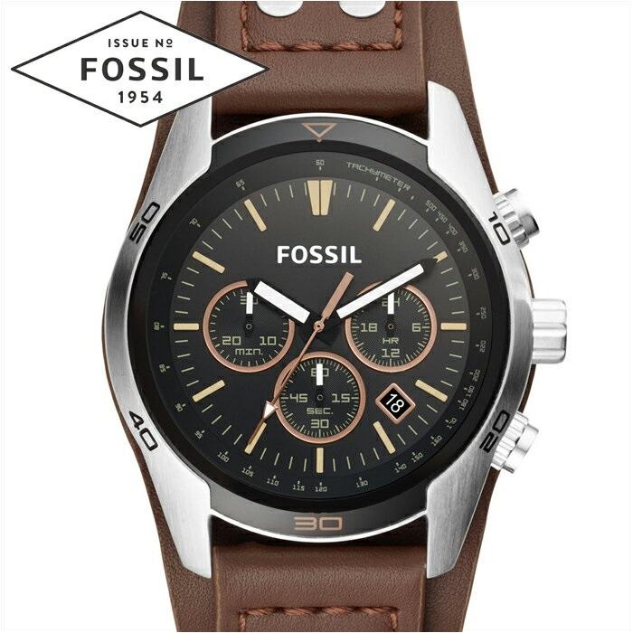 高価値 フォッシル FOSSIL CH2891時計 腕時計 メンズ ブラック ブラウン レザー【ID】, 習志野市 4bce5562