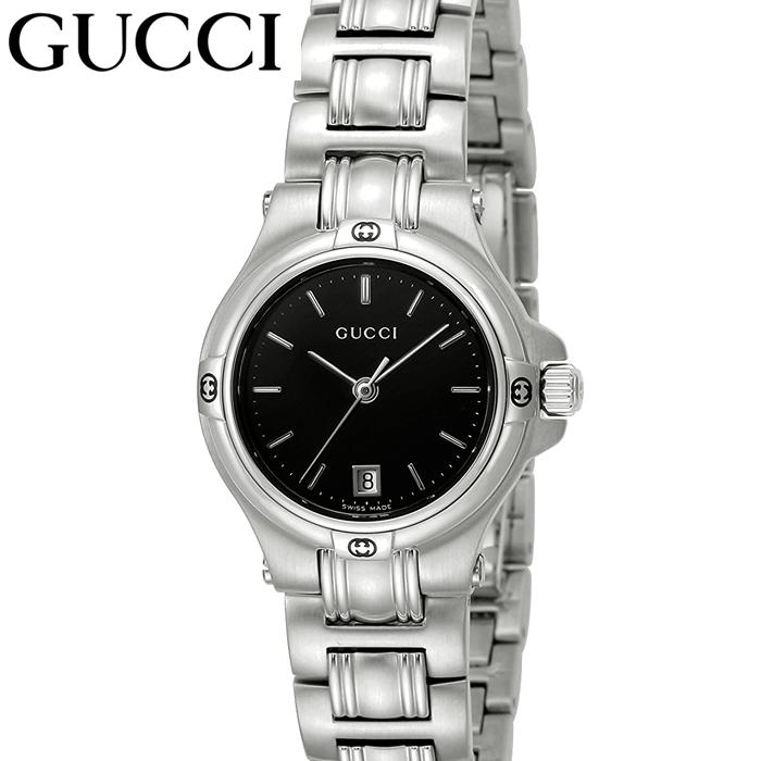 (特典付き!)グッチ GUCCI 9045YA090506 時計 腕時計 レディース ブラック