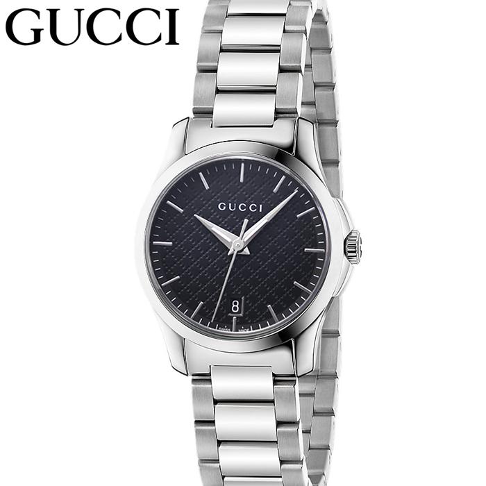 (特典付き!)グッチ GUCCI GタイムレスYA126592 時計 腕時計 レディース ブラック