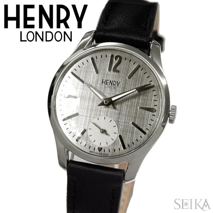 【レビューを書いて5年保証】【サマークリアランス】ヘンリーロンドン HENRY LONDON 時計 30mm レザーHL30-US-0073(57)ウォッチ レディース ギフト