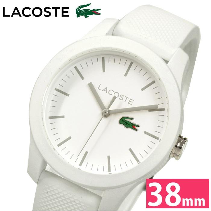 ラコステ LACOSTE 2000954 (77)時計 腕時計 レディースホワイト ラバー