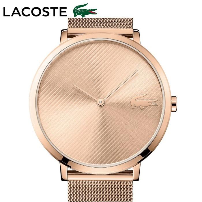 ラコステ LACOSTE 2001028(114)時計 腕時計 レディースピンクゴールド メッシュ