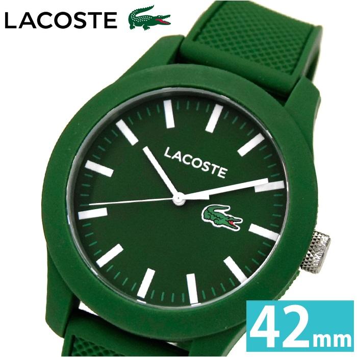 【19】LACOSTE ラコステ メンズ 時計【2010763】グリーン ラバー