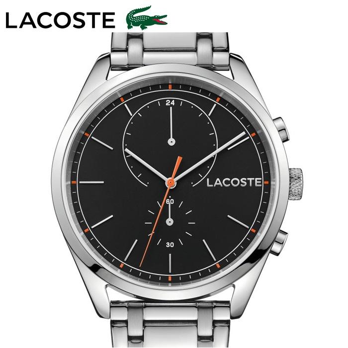 ラコステ LACOSTE サンディエゴ(SAN DIEGO) 2010918 (108)時計 腕時計 メンズブラック シルバー