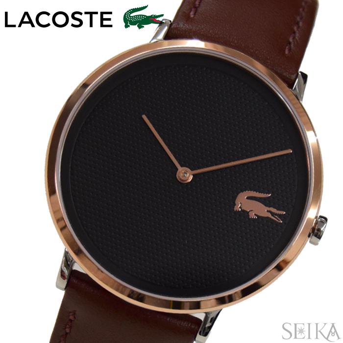 ラコステ LACOSTE 2010952 (121)時計 腕時計 メンズ ブラック ブラウン レザー