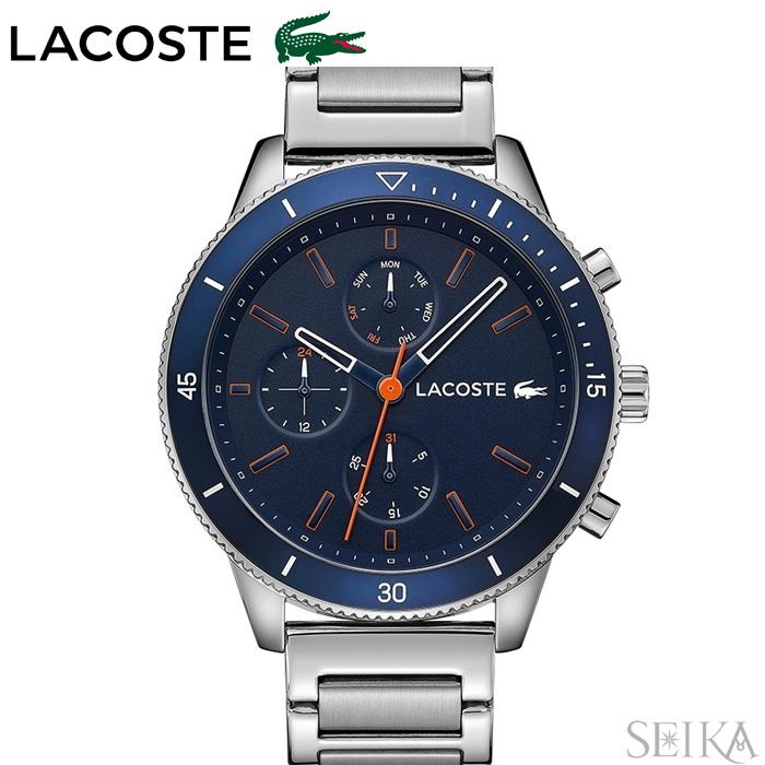 ラコステ LACOSTE 2010995 (130)時計 腕時計 メンズブルー シルバー