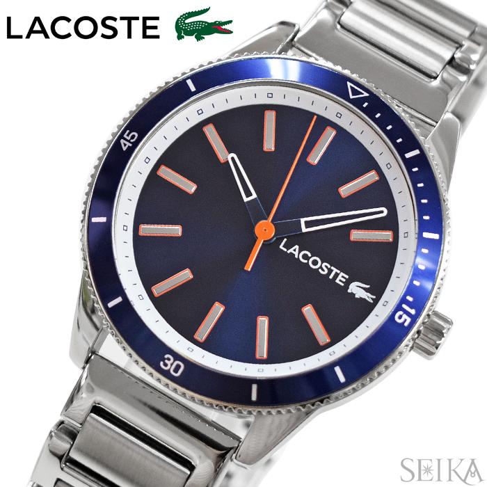 【レビューを書いて5年保証】ラコステ LACOSTE 2011014(170)時計 腕時計 メンズ ネイビー 青い腕時計 ギフト