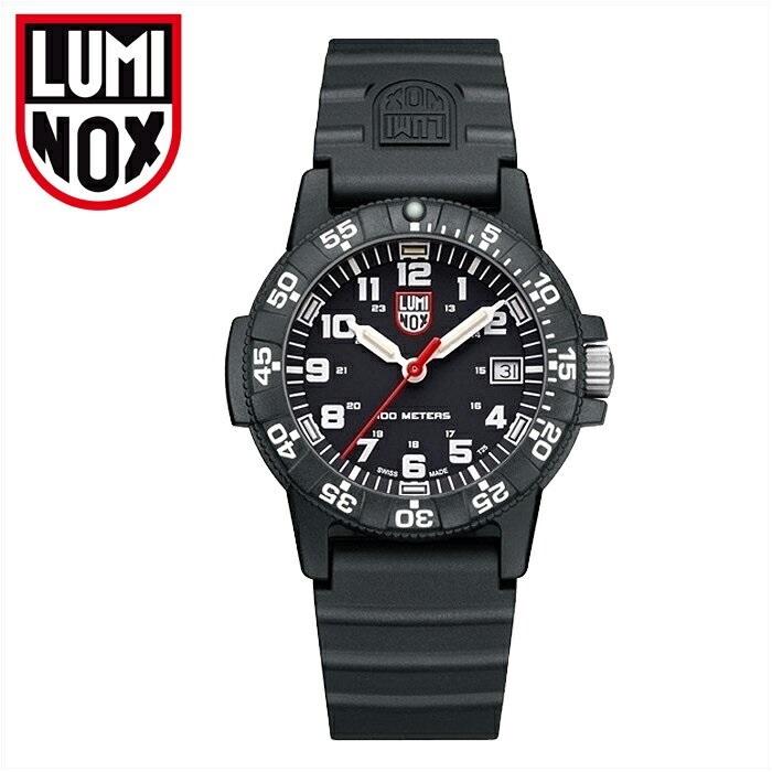 ルミノックス LUMINOX 0301(14)レザーバックシータートル時計 腕時計 メンズ レディース ユニセックスブラック ラバー39mm T25表記