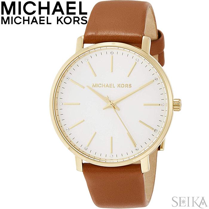 マイケルコース MICHAEL KORS MK2740時計 腕時計 レディース ブラウン レザー