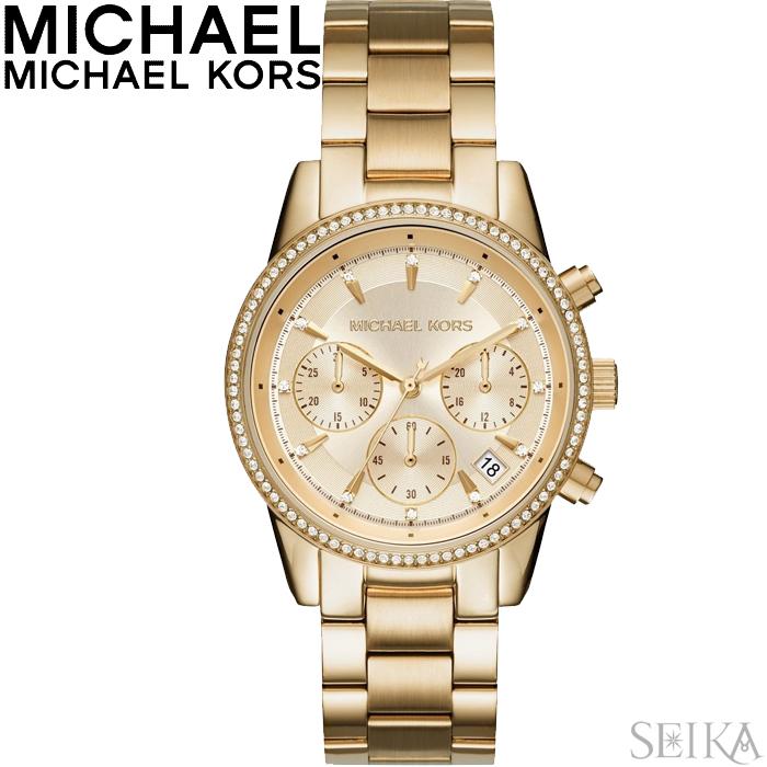 マイケルコース MICHAEL KORS MK6356時計 腕時計 レディース ゴールド