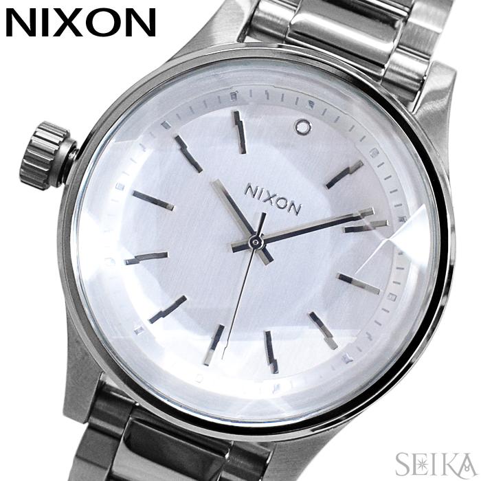 【レビューを書いて5年保証】ニクソン NIXON ファセット38 A409-1920 A4091920 時計 腕時計 レディース シルバー(D10) ギフト