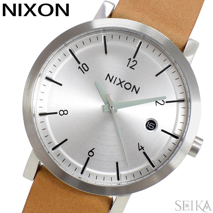 【レビューを書いて5年保証】ニクソン NIXON ロロ38 A984-2853 A9842853 時計 腕時計 メンズ レディース ユニセックス ブラウン レザー(D10) ギフト
