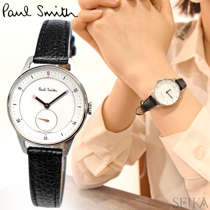 【レビューを書いて5年保証】ポールスミス PAUL SMITH BZ1-919-10(16) Church Street mini 時計 腕時計 レディース ブラック レザー ギフト