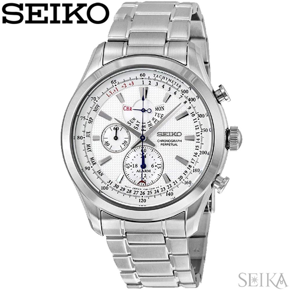 セイコー SEIKO SPC123P1(85)時計 腕時計 ホワイト 海外モデル 逆輸入