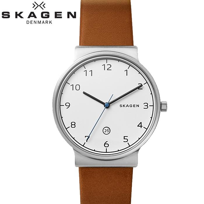 スカーゲン SKAGEN SKW6433時計 腕時計 メンズ ブラウン レザー【ID】