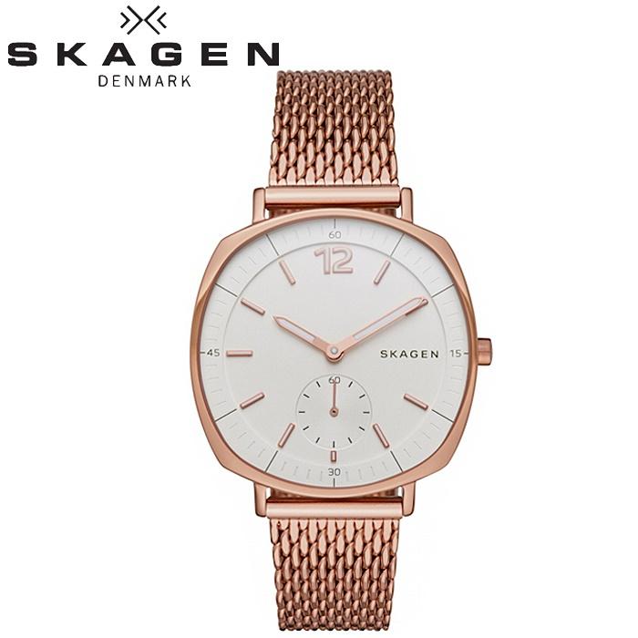 スカーゲン SKAGEN SKW2401時計 腕時計 レディースピンクゴールド メッシュ【ID】