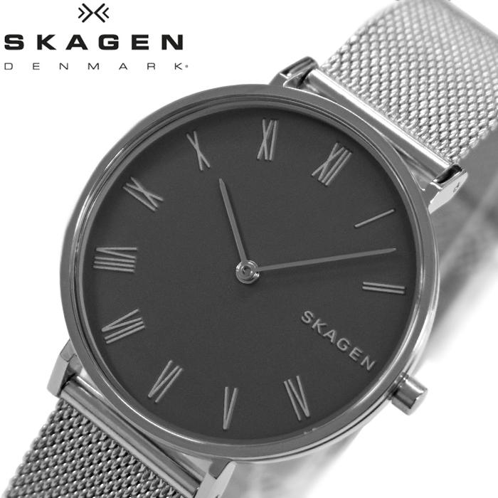 スカーゲン SKAGEN SKW2677 ハルド時計 腕時計 レディース グレー メッシュ【ID】【G2】