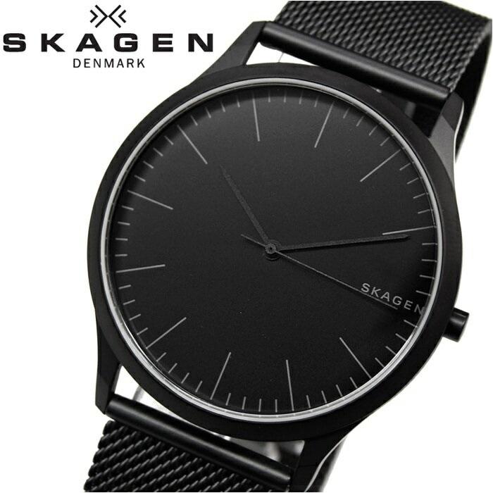 スカーゲン SKAGENSKW6422 時計 腕時計 メンズヨーン ブラック メッシュ【ID】