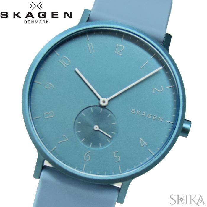 【スーパーSALE】 スカーゲン SKAGEN SKW6509 アーレン 時計 腕時計 メンズ ライトブルー シリコン 青い腕時計 プレゼント 父の日