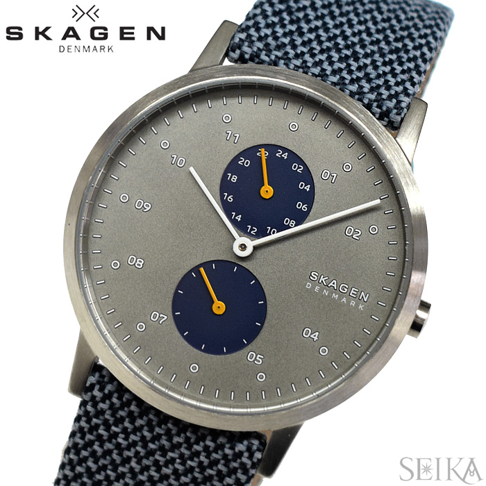 【レビューを書いて5年保証】 スカーゲン SKAGEN SKW6524 時計 腕時計 メンズ クリストファー KRISTOFFER レザー グレー ギフト