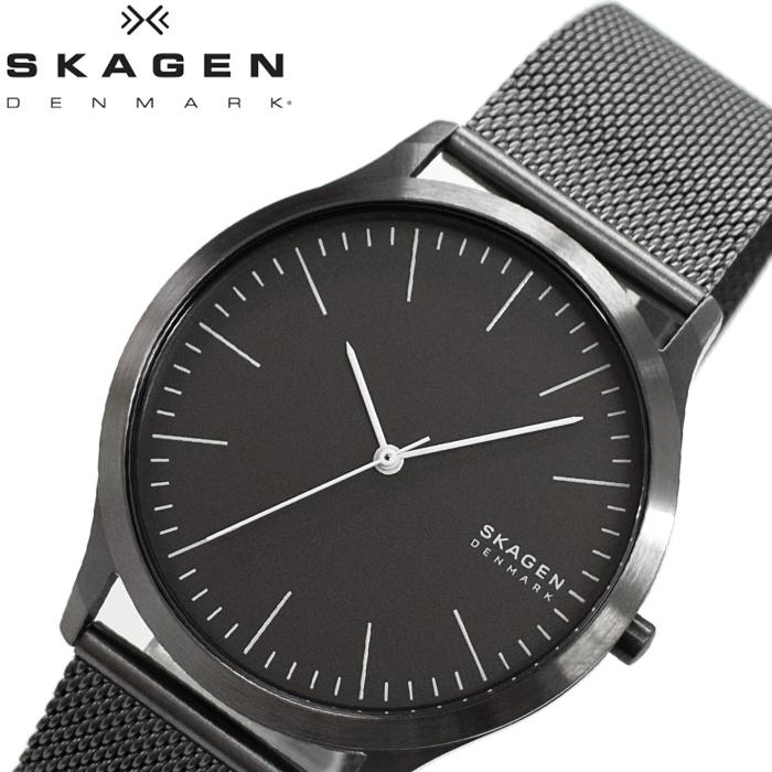 【レビューを書いて5年保証】【サマークリアランス】スカーゲン SKAGEN SKW6553 時計 腕時計 メンズ グレー メッシュ【0703】 ギフト