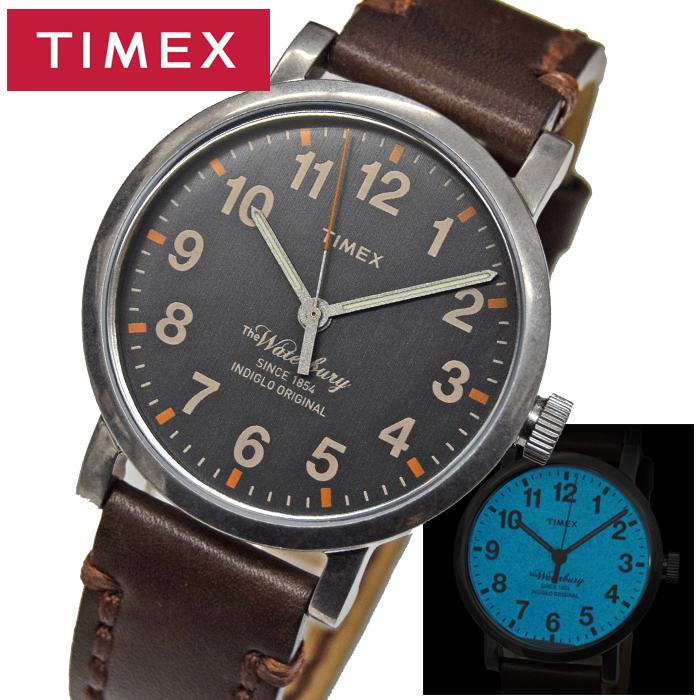 タイメックス TIMEX 時計 メンズ 腕時計【TW2P58700(72)】グレー ダークブラウン ウォーターベリー コレクション クリスマス プレゼント