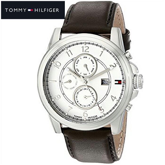 トミーヒルフィガー TOMMY HILFIGER 1710294(161)時計 腕時計 メンズ ブラウン レザー