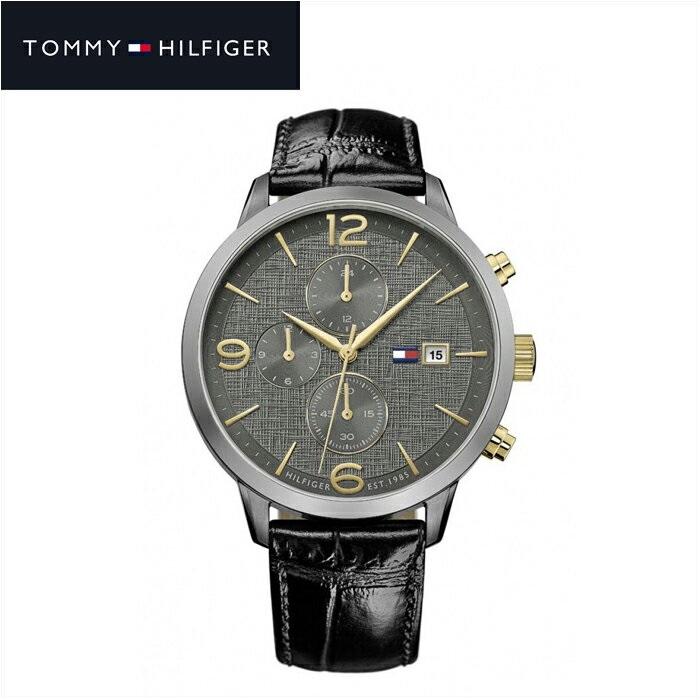 トミーヒルフィガー TOMMY HILFIGER1710357(145) メンズ 時計 腕時計 チャコールグレー ブラック ラバー