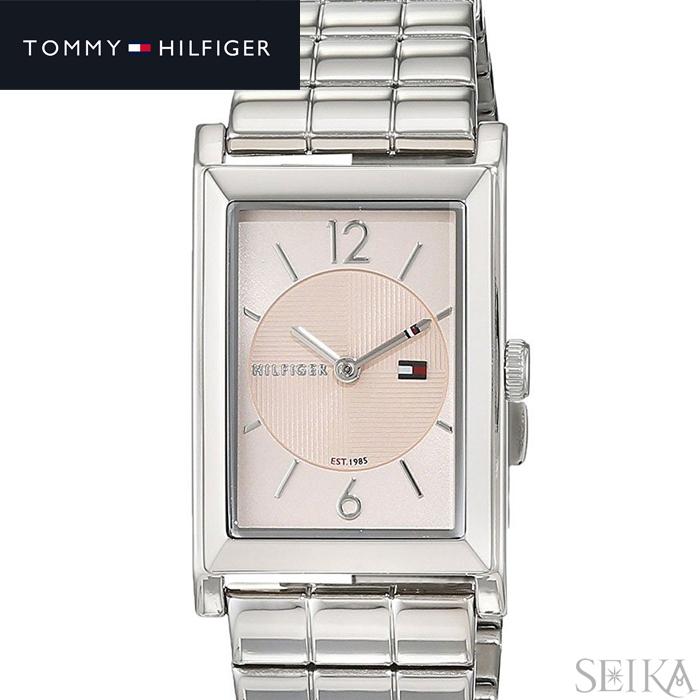 トミーヒルフィガー TOMMY HILFIGER 1781835 (238)時計 腕時計 レディース ピンクベージュ シルバー