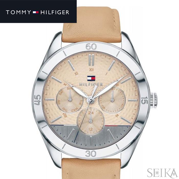 トミーヒルフィガー TOMMY HILFIGER 1781886 (242)時計 腕時計 レディース ベージュ レザー