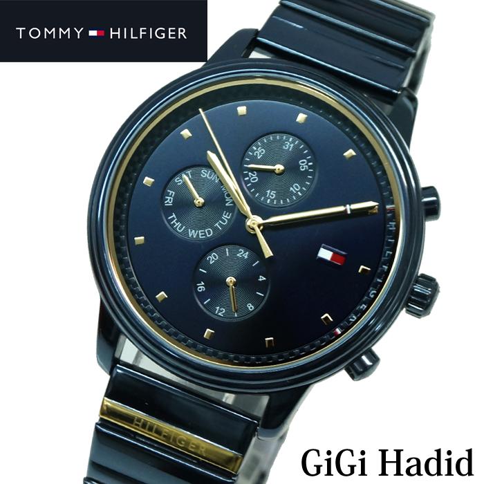 トミーヒルフィガー TOMMY HILFIGER 1781893 (213)時計 腕時計 レディース ネイビーGiGi Hadid ジジ・ハディッド