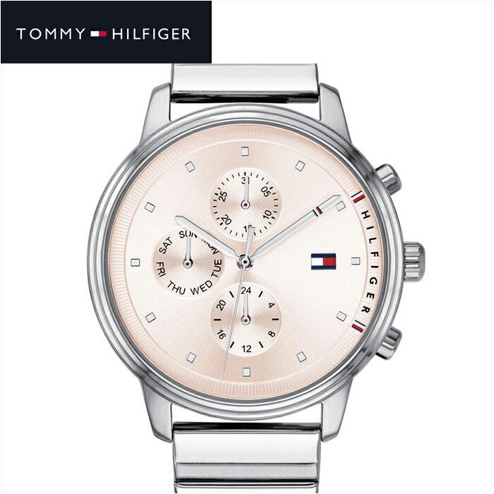トミーヒルフィガー TOMMY HILFIGER1781904(185) レディース 時計 腕時計 サーモンピンク シルバー