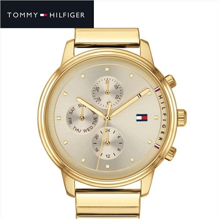 【レビューを書いて5年保証】【サマークリアランス】トミーヒルフィガー TOMMY HILFIGER1781905(187) レディース 時計 腕時計 シャンパンゴールド ゴールド ギフト