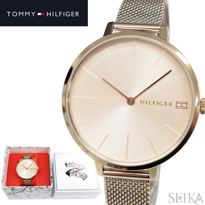 トミーヒルフィガー TOMMYHILFIGER 1782165(321) 時計 腕時計 レディース ピンクゴールド メッシュ TOMMY×ZENDAYAコレクション