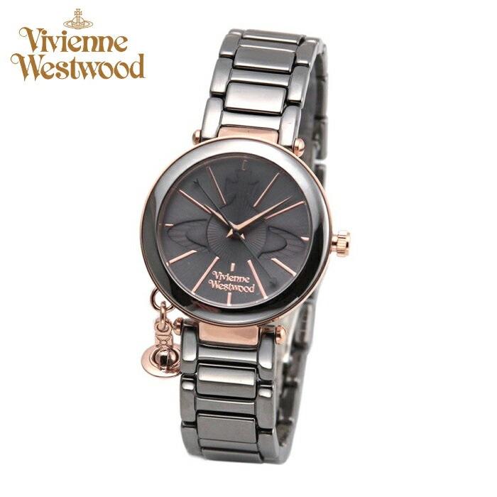 (ショップ袋プレゼント)ヴィヴィアンウエストウッドVivienne Westwood時計 腕時計 レディースブラック ブラック VV067SLTI【ID】