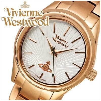【クリアランス】ヴィヴィアンウエストウッドVivienne Westwood時計 腕時計 レディースシルバー ピンクゴールド VV111RS【G2】 ピンクゴールドの腕時計