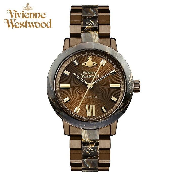 (ショップ袋プレゼント)ヴィヴィアンウエストウッドVivienne Westwood時計 腕時計 レディースブラウン ブラウン VV165BRBR【ID】