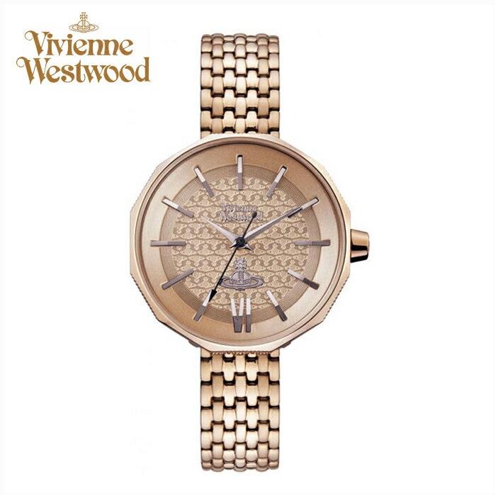 (お取り寄せ)(ショップ袋プレゼント)ヴィヴィアンウエストウッドVivienne Westwood時計 腕時計 レディースピンクゴールド VV171NUNU(ty04)